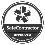 SafeContractor approved midlands security services company logo