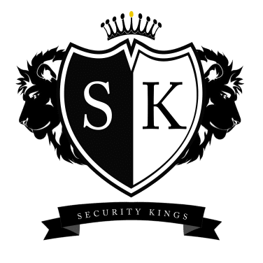 Security kings Logo Burton on Trent and Derby 376 Clear